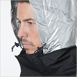 TS DESIGN 18246 メガヒートES防水防寒ジャケット(男女兼用) 調整付き