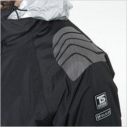 TS DESIGN 18246 メガヒートES防水防寒ジャケット(男女兼用) 補強