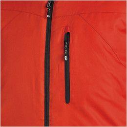TS DESIGN 1826 防寒 メガヒートライトウォームジャケット(男女兼用) ファスナーポケット
