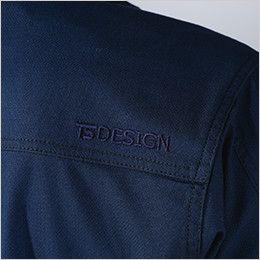TS DESIGN 3516 ハイブリッドコットンジャケット(男女兼用) 刺繍入り
