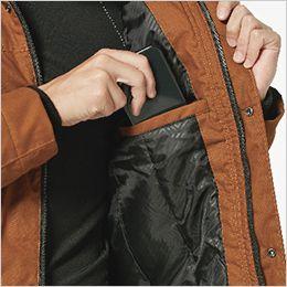 TS DESIGN 3526 [秋冬用]ライトウォームジャケット 便利な内ポケット