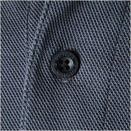 TS DESIGN 4075 ESロングスリーブポロシャツ(男女兼用) TSデザインオリジナル4つ穴ボタン