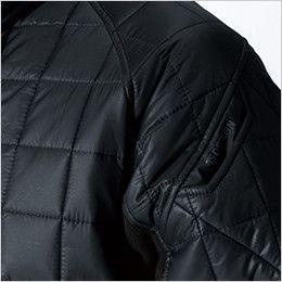 42256 TS DESIGN [秋冬用]マイクロリップショートスリーブジャケット(男女兼用) マルチスリーブ