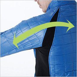 4226 TS DESIGN [秋冬用]マイクロリップロングスリーブジャケット(男女兼用) ストレッチ(両脇・袖・背中)