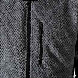 TS DESIGN 4236 [秋冬用]マイクロファーロングスリーブジャケット(男女兼用)  ポケット