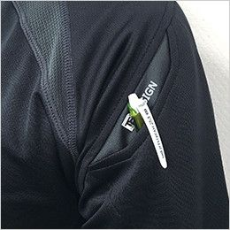 TS DESIGN 5065 [春夏用]FLASH 半袖ドライポロシャツ(男女兼用) マルチスリーブポケット仕様