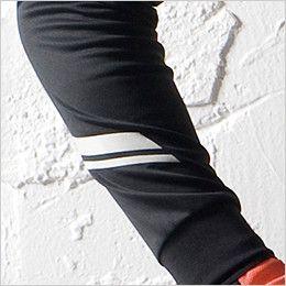 TS DESIGN 5075 [秋冬用] FLASH 長袖ポロシャツ(男女兼用) 反射プリント