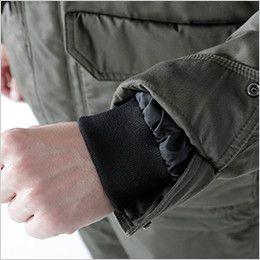 5126 TS DESIGN 綿100%ライトウォームジャケット(男性用) リブ仕様