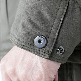 5126 TS DESIGN 綿100%ライトウォームジャケット(男性用) TS DESIGN オリジナルボタン