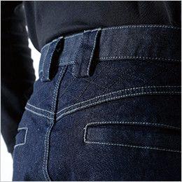 TS DESIGN 5134 メンズニッカーズカーゴパンツ(男女兼用) 腰補強(刺し子仕様)