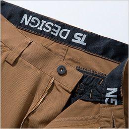 TS DESIGN 53041 [春夏用]ライトテックレディースカーゴパンツ(女性用) 帯裏デザイン