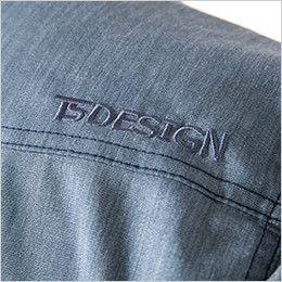 TS DESIGN 5305 [春夏用]ライトテックロングスリーブシャツ(男女兼用) オリジナル刺繍