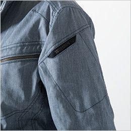 TS DESIGN 5306 [春夏用]ライトテックロングスリーブジャケット (男女兼用) マルチスリーブポケット仕様+TSデザインロゴ刺繍入り