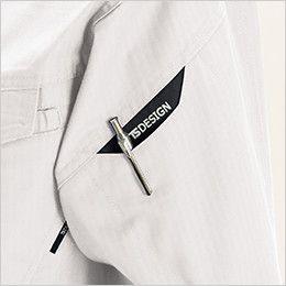 TS DESIGN 6116 リップストップ 長袖ジャケット(男女兼用) マルチスリーブポケット