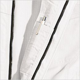 TS DESIGN 6116 リップストップ 長袖ジャケット(男女兼用) 内側ペン差し