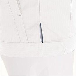 6116 TS DESIGNリップストップ 長袖ジャケット(男女兼用) 裾調節