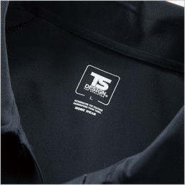 TS DESIGN 8075 [春夏用]クールアイス長袖ポロシャツ(男女兼用) サイズプリント