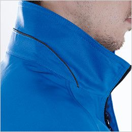 TS DESIGN 8106 [通年]AIR ACTIVE ロングスリーブジャケット(男女兼用) 配色パイピング