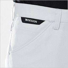 TS DESIGN 81141 製品制電アクティブレディースカーゴパンツ(女性用) コインポケット