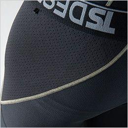 TS DESIGN 8120 [春夏用]接触冷感ニープロテクトロングパンツ(男性用) 腰サイド補強
