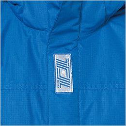 TS DESIGN 8127 防水防寒ライトウォームジャケット(男女兼用) 反射ワッペン(前立て)