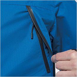 TS DESIGN 8127 防水防寒ライトウォームジャケット(男女兼用) 雨が侵入しづらい大容量ポケット付
