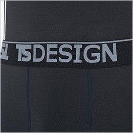 TS DESIGN 82221 ES ロングパンツ(男性用) 帯デザイン