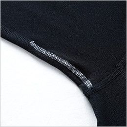 TS DESIGN 8225 マイクロフリースロングスリーブシャツ(男性用) 消臭テープ
