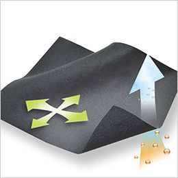 TS DESIGN 8225 マイクロフリースロングスリーブシャツ(男性用) マイクロフリース