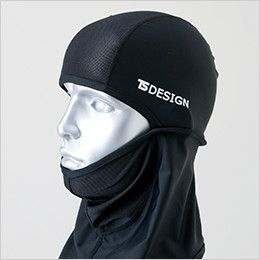 TS DESIGN 84119 熱中症対策 バラクラバ アイマスク(男女兼用) あごを守る
