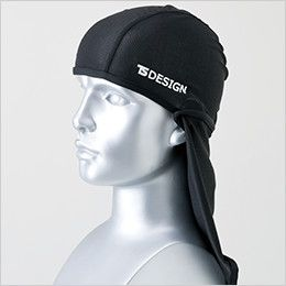TS DESIGN 841190 熱中症対策 バラクラバ アイスマスクメッシュ(男女兼用) 頭部全体をガード