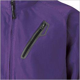 TS DESIGN 8436 リップストップウインドブレーカージャンパー(男女兼用) スポーツテイストのシームポケット