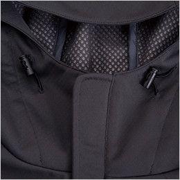 8446 TS DESIGN スポーティ防寒 防風ウォームジャケット(男女兼用) フード調節付