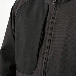 TS DESIGN 84606 [春夏用]ハイブリッドサマーワークジャケット(男女兼用) フロントポケット
