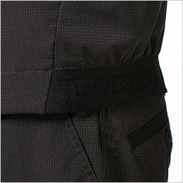 TS DESIGN 84606 [春夏用]ハイブリッドサマーワークジャケット(男女兼用) TSデザイン オリジナルジャガードゴム