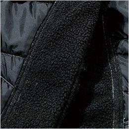 TS DESIGN 846244 [秋冬用]防寒・ストレッチ中綿キルティングカーゴパンツ(男女兼用) 裏側フリース部分