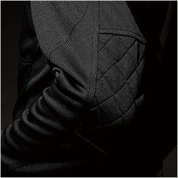 TS DESIGN 846305 [春夏用]ワークニット 長袖ドライポロシャツ(男女兼用)  刺し子仕様