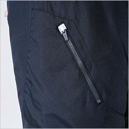 846322 TS DESIGN かっこいいドカジャンパンツウインターフライトパンツ(男女兼用) ファスナーポケット