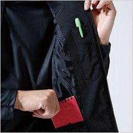 87228 TS DESIGN [秋冬用]防寒FLASHウインターベスト(男女兼用) 内側ペン差し+内ポケット