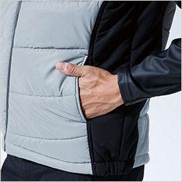87228 TS DESIGN [秋冬用]防寒FLASHウインターベスト(男女兼用) ポケット