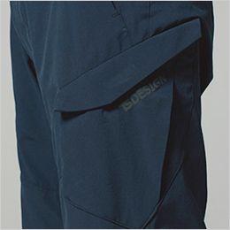 TS DESIGN 91145 [通年]TS 4Dメンズカーゴショートパンツ(男性用) フラップ付きポケットだから、物が落ちづらい