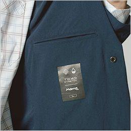 TS DESIGN 9136 [通年]TS 4D ステルス メンズジャケット 両サイドに内ポケット+サイズ転写ネーム