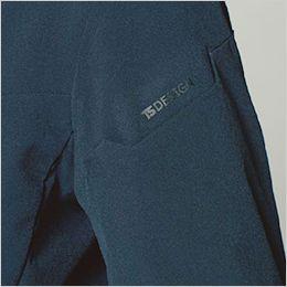 TS DESIGN 91361 [通年]TS 4D ステルス レディースジャケット マルチスリーブポケット仕様(ブラック転写プリント)