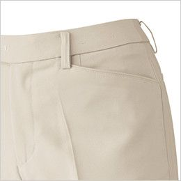 ジーベック 12201 ストレッチパンツ(女性用) ポケット付き
