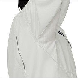 ジーベック 1252 [春夏用]スムーズアップ半袖シャツ オリジナルカットのXEカットで腕の上げ下げがスムーズに