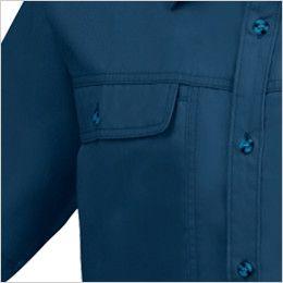 ジーベック 1442 [春夏用]半袖シャツ ポケット