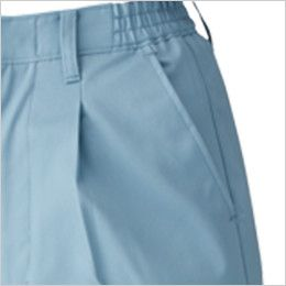 ジーベック 1484 T/Cツイルワンタックスラックス(女性用) ポケット