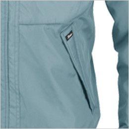 ジーベック 152 エコ防寒ブルゾン (男女兼用) 両脇ポケット