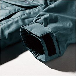 ジーベック 152 エコ防寒ブルゾン (男女兼用) 袖口はマジックテープ