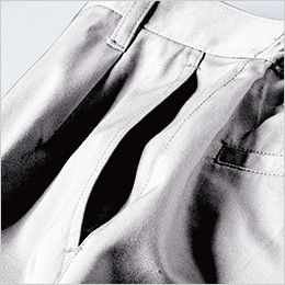 ジーベック 1686 帯電防止ラットズボン(女性用) ポケット付き